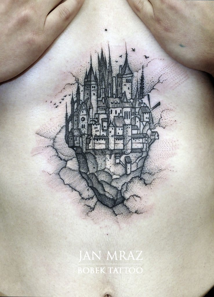 How gorgeous is this solar plexus flying castle by Jan Mraz???