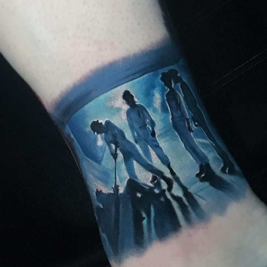 Max Relax and Pop Some Popcorn: Movie Tattoos Just For You
