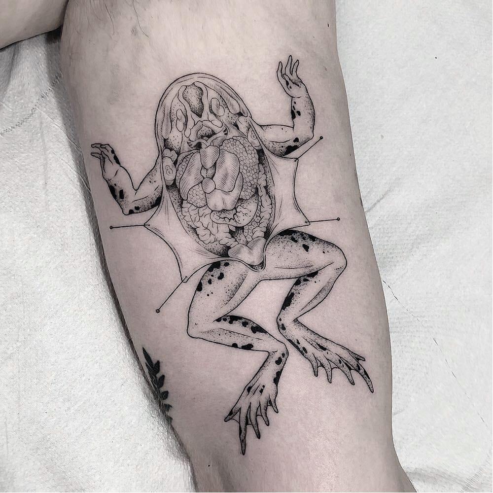 Visionary Drawings: Illustrative Tattoos