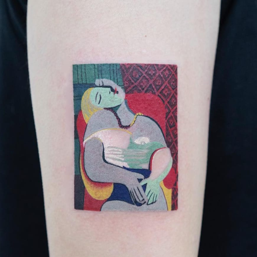 Get Your Culture On With These Fine Art Tattoos