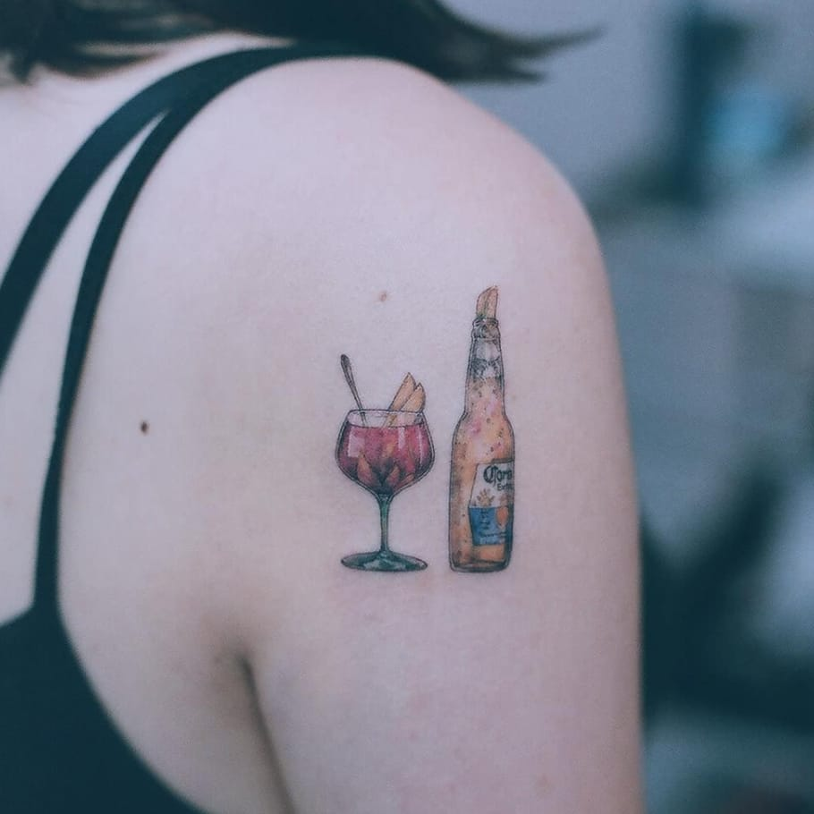 Baby, Let's Get Wasted: Drink Tattoos