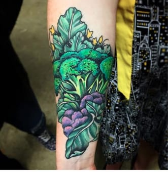A commanding clump of greens by @nateclick
