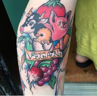 A piece fit for a farm by @tattoosbyriri