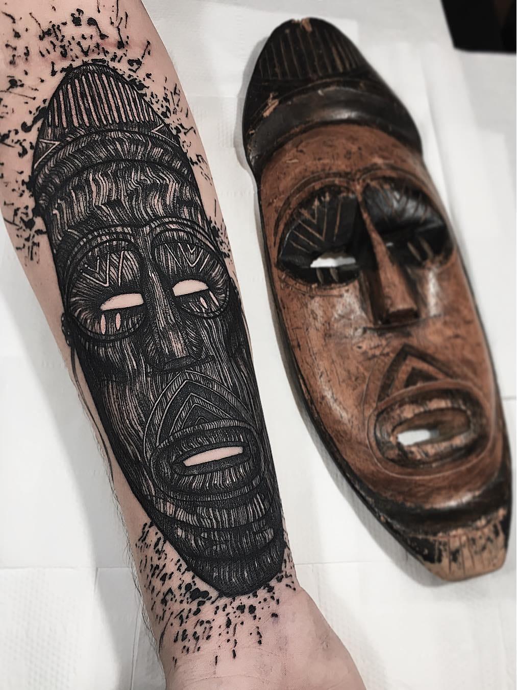 12 Tatuagens Blackwork Pesadas De Wesley Maik