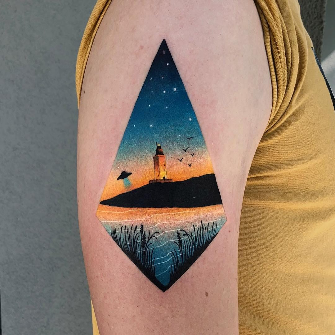 Designing With Nature: Landscape Tattoos
