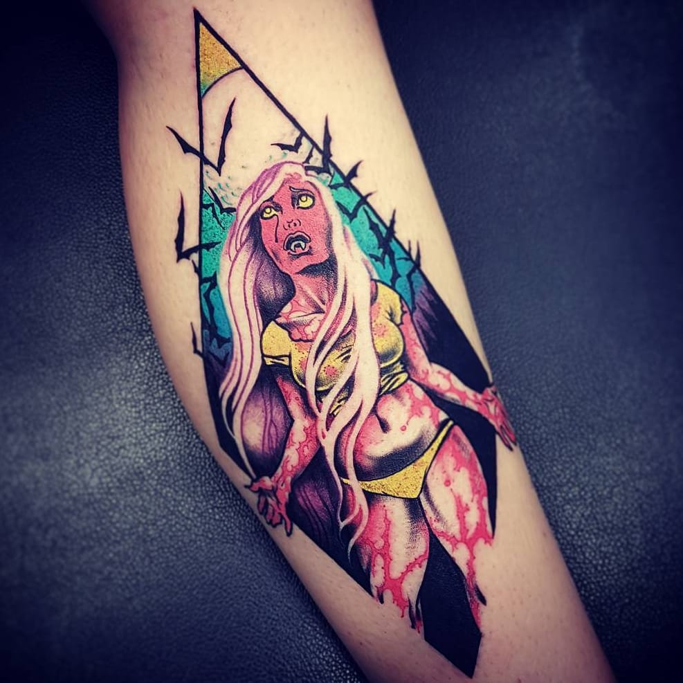 Visual Encyclopedia of Kink and Comics: Tattoo Artist Onnie O'Leary