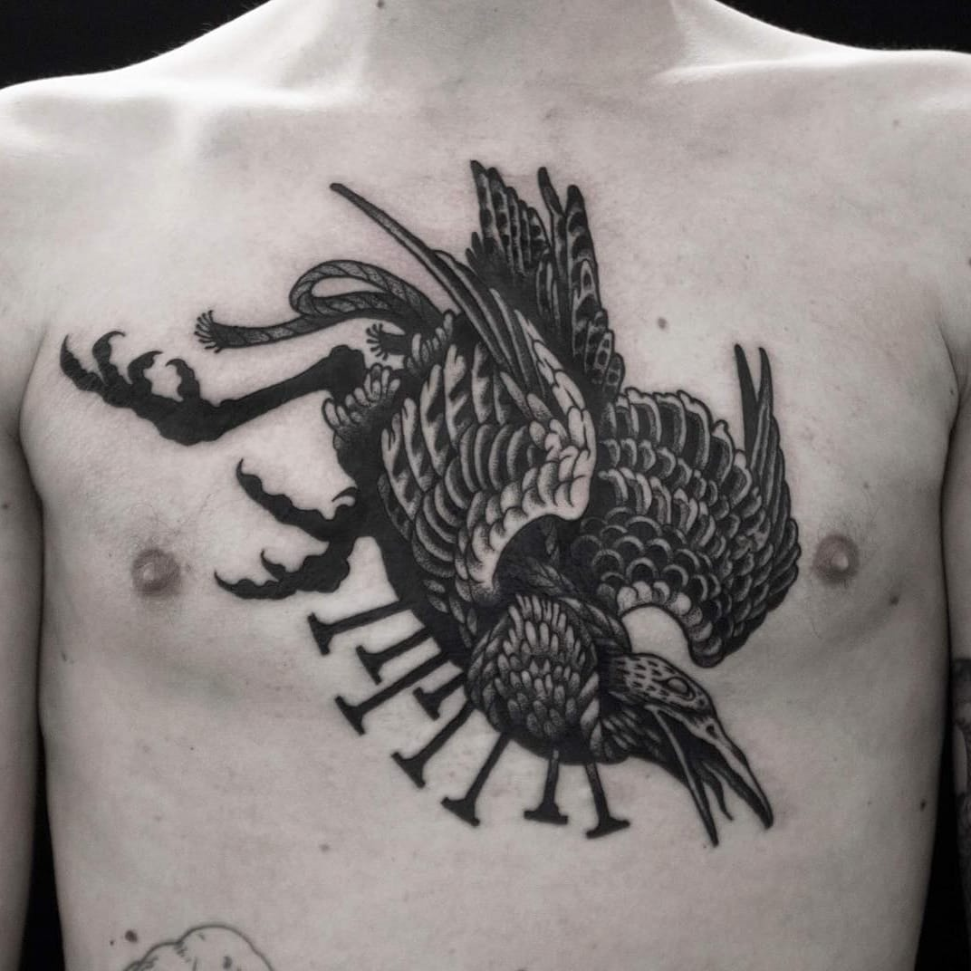 Calling Upon the Forces of Twilight: Dark Art Tattoos