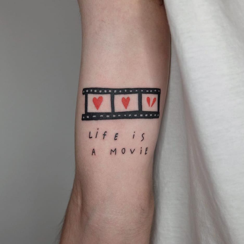 Butter Me Up With Some Good Flicks, Popcorn and Great Movie Tattoos
