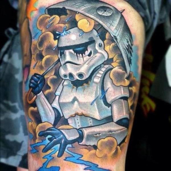 24 nutty Star Wars tribute tattoos