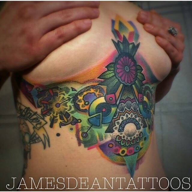 Couldn't be more colorful than this one by James Dean!