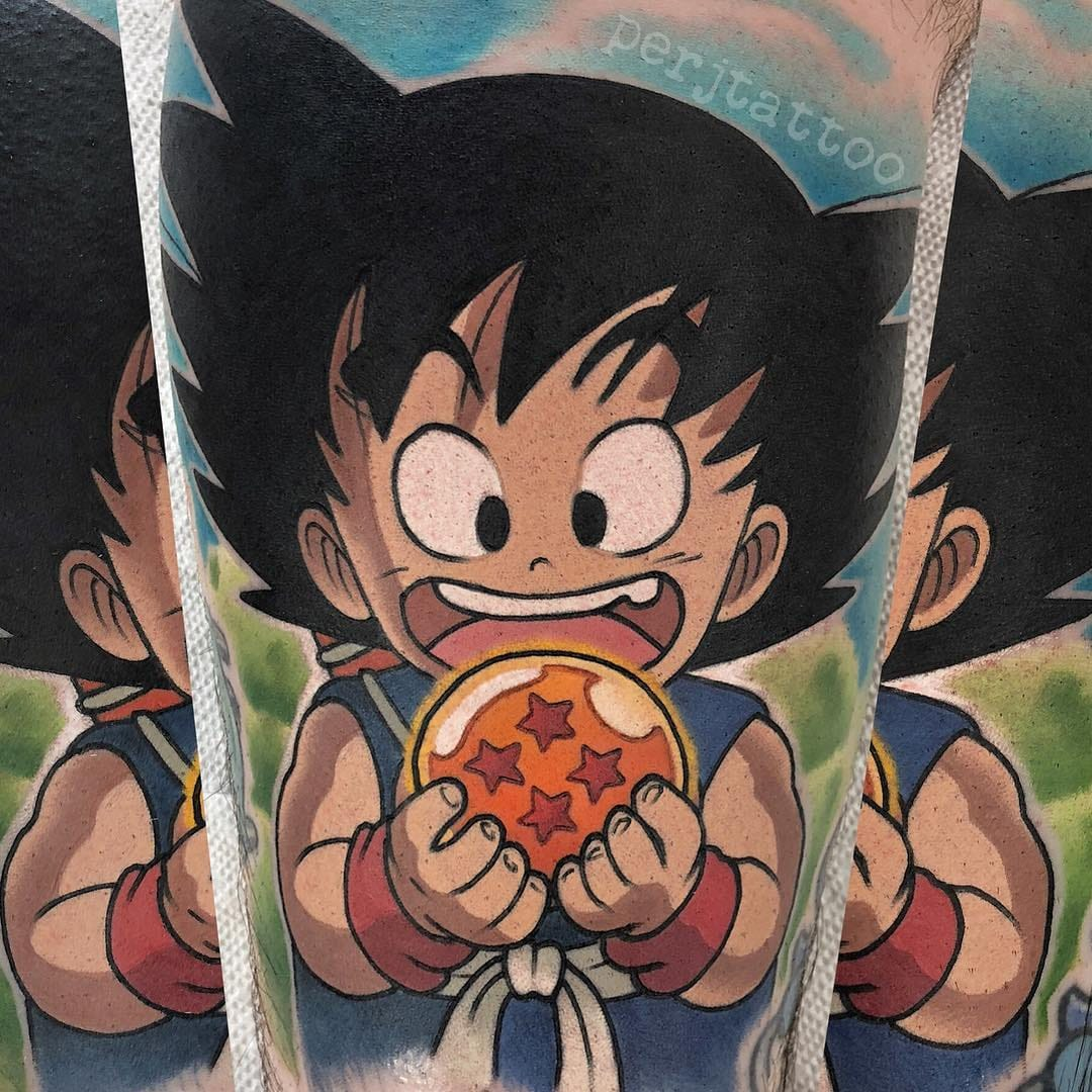 Limitations Exist Only If You Let Them: Dragon Ball Z Tattoos