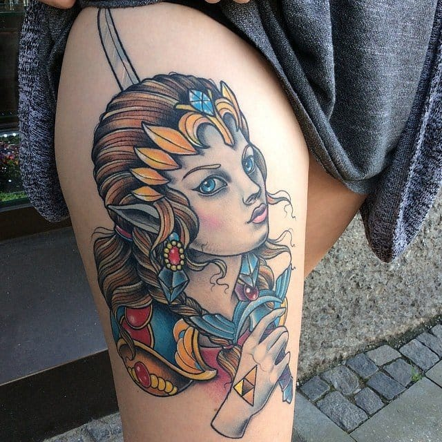 Another gorgeous Princess Zelda by Ina Schimp...