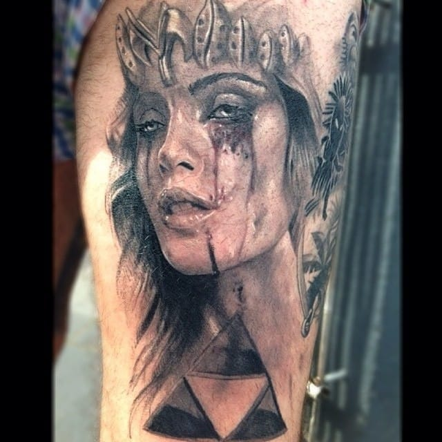 Here, Jak Connoly imagined her in a realistic style... what do you think?