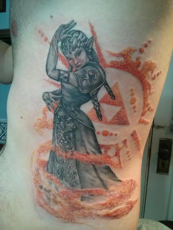 Cool use of red ink by Jamie Izumi.