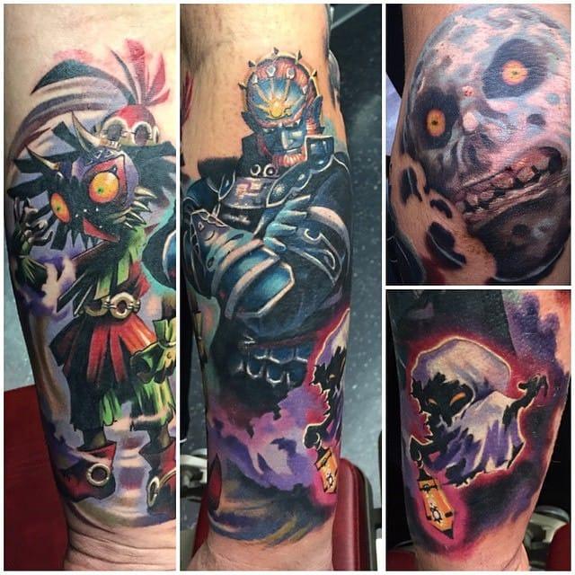 Vilains tattoo by Joe Matisa.
