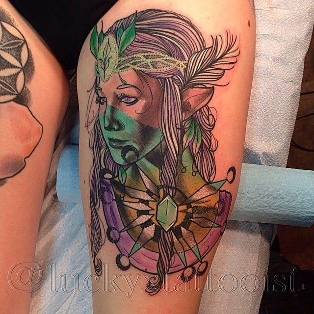 Beautiful Zelda by Lucky.