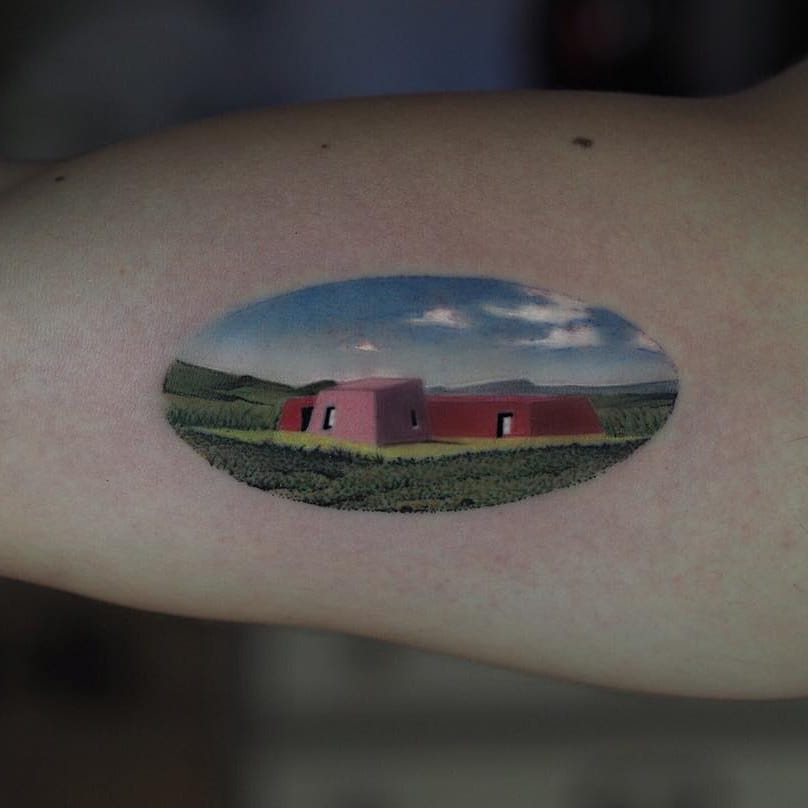 The Look of the Land Around Us: Landscape Tattoos