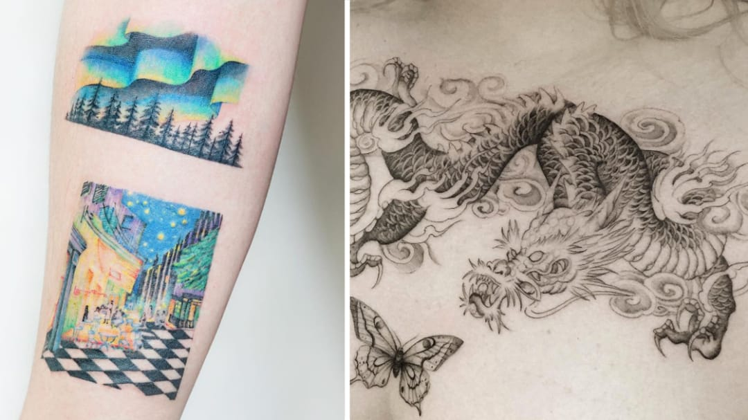 Weak At The Knees: Today's Best Tattoos: