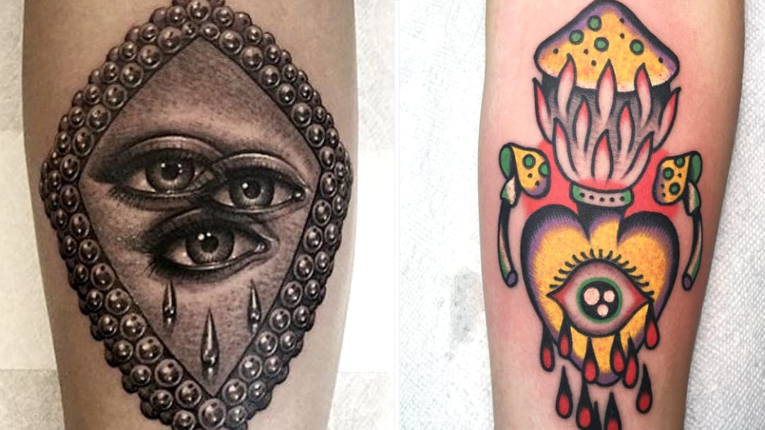 Sublime Existential Eye Tattoos