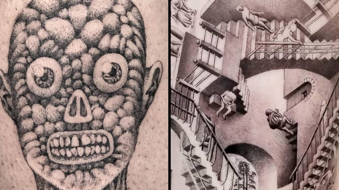 Embracing Our Authentic Oddities: Strange Tattoos