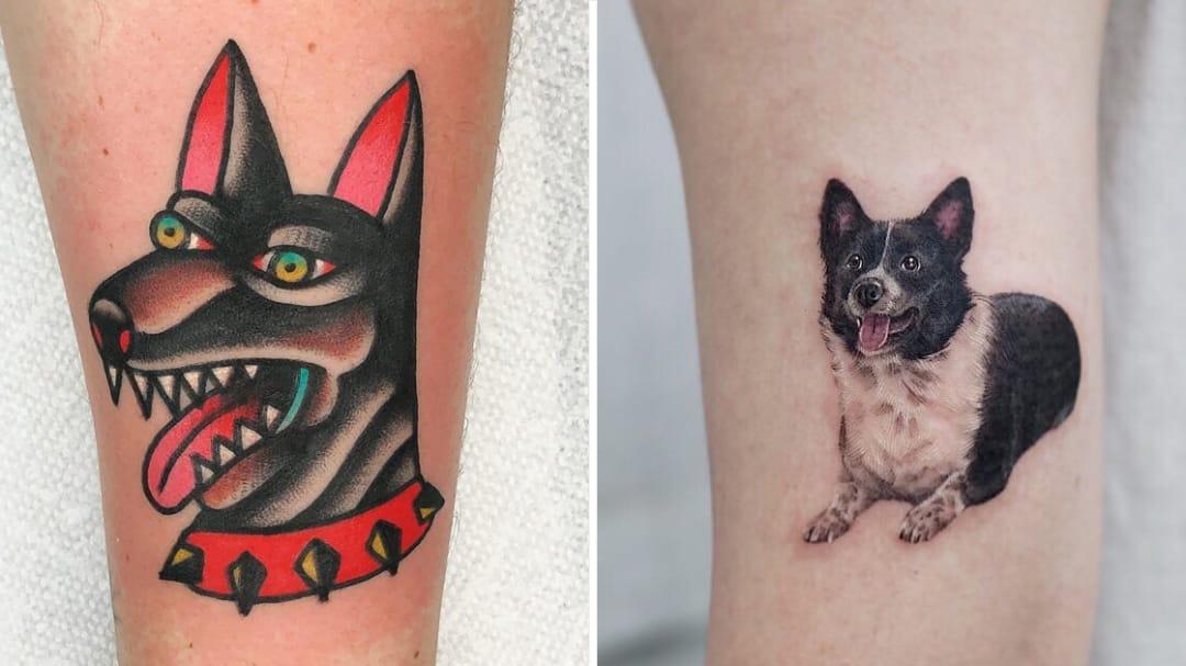 He's a Tramp...But I Love Him: Dog Tattoos