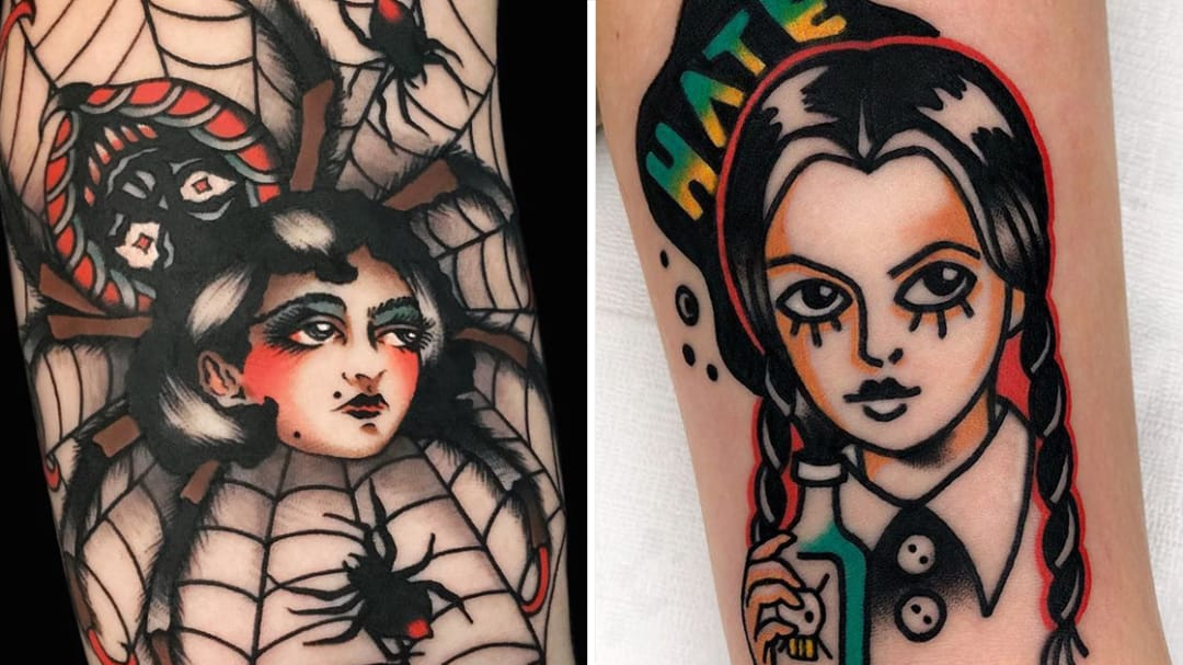 Ghouls, Ghosts and Demonic Pumpkins Unite for Halloween Tattoo Fright!