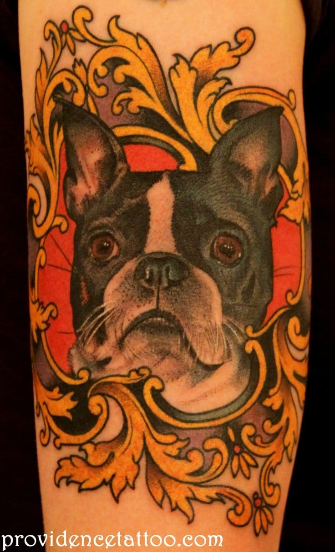 Trabalho feito na Providence Tattoo