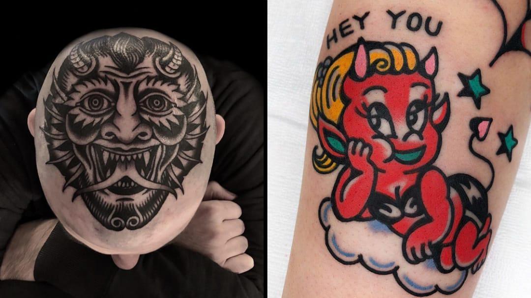 Revel in Sin: Satan Tattoos