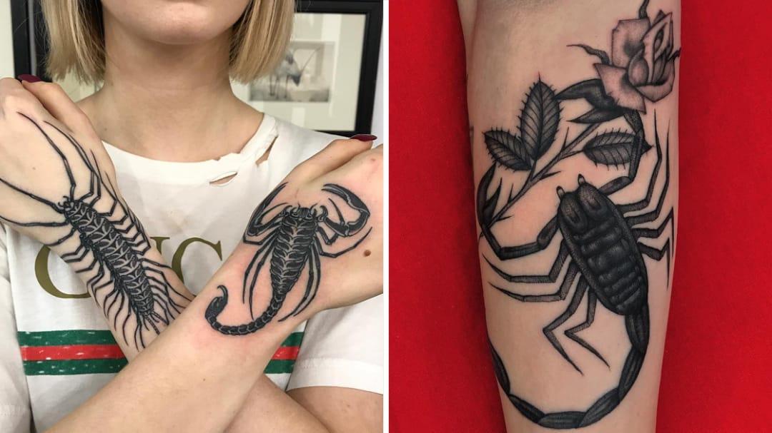 Scorpion Tattoos To Make Ur Skin Crawl