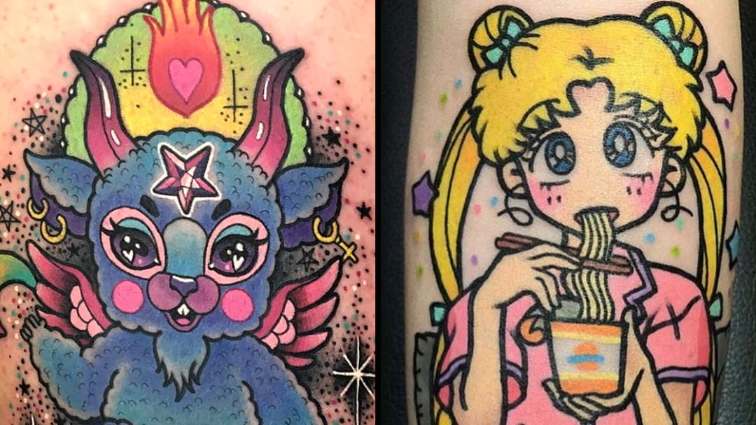 Insanely Kawaii Tattoos to Make You Squeal