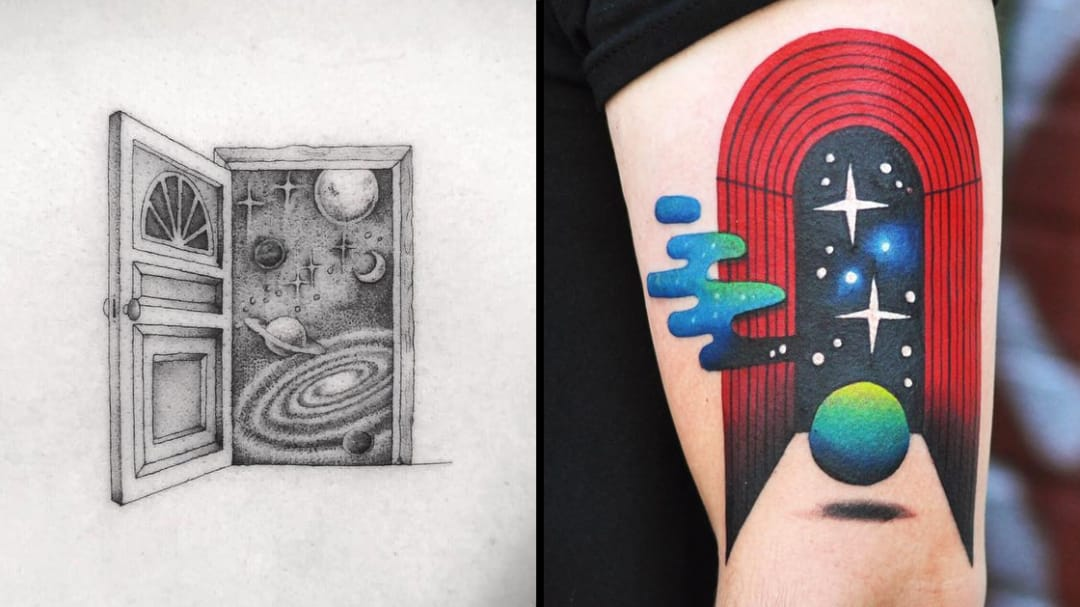 Space Travel Made Easy: Portal Tattoos