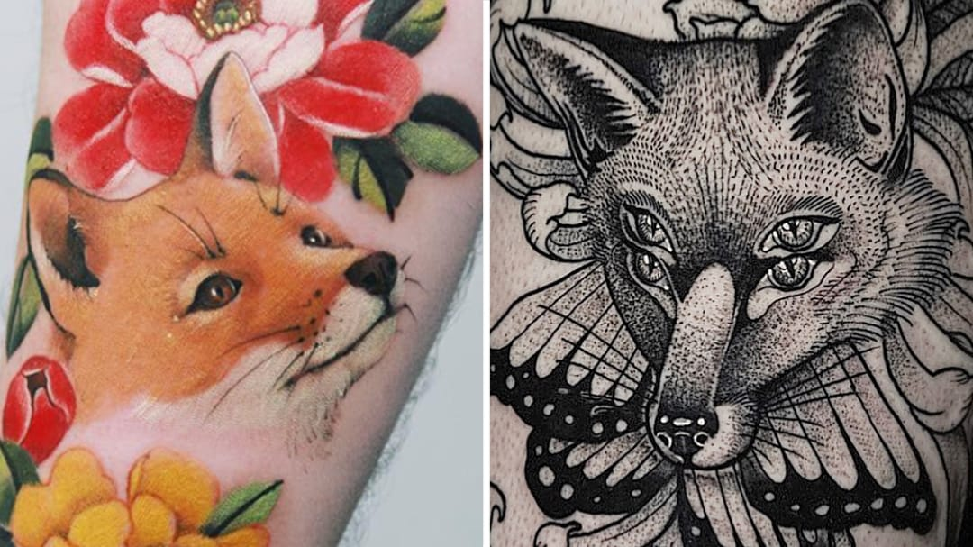 Just the Cleverest and Cutest Fox Tattoos Ever