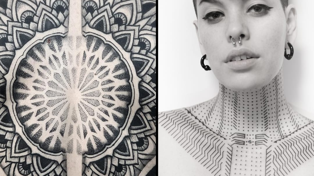 We Are All Connected: Geometric Tattoos