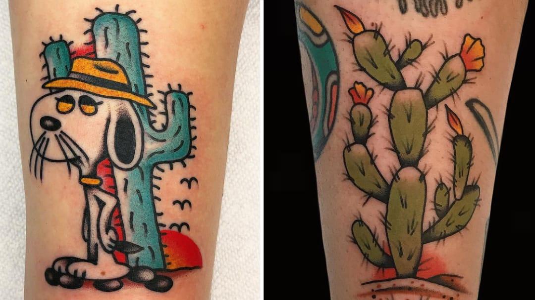 You're My Favorite Prick: Cactus Tattoos