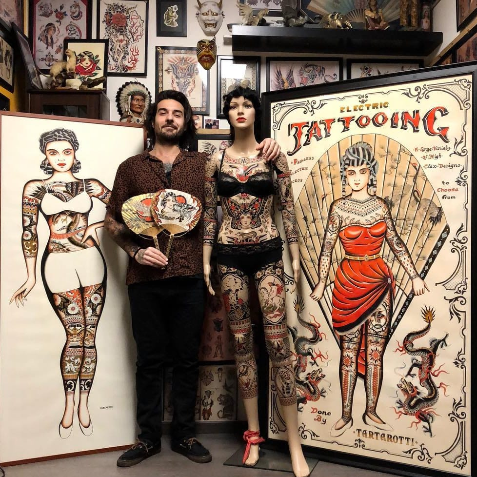 Painted Screens and Playing Cards: Interview with Joe Tartarotti