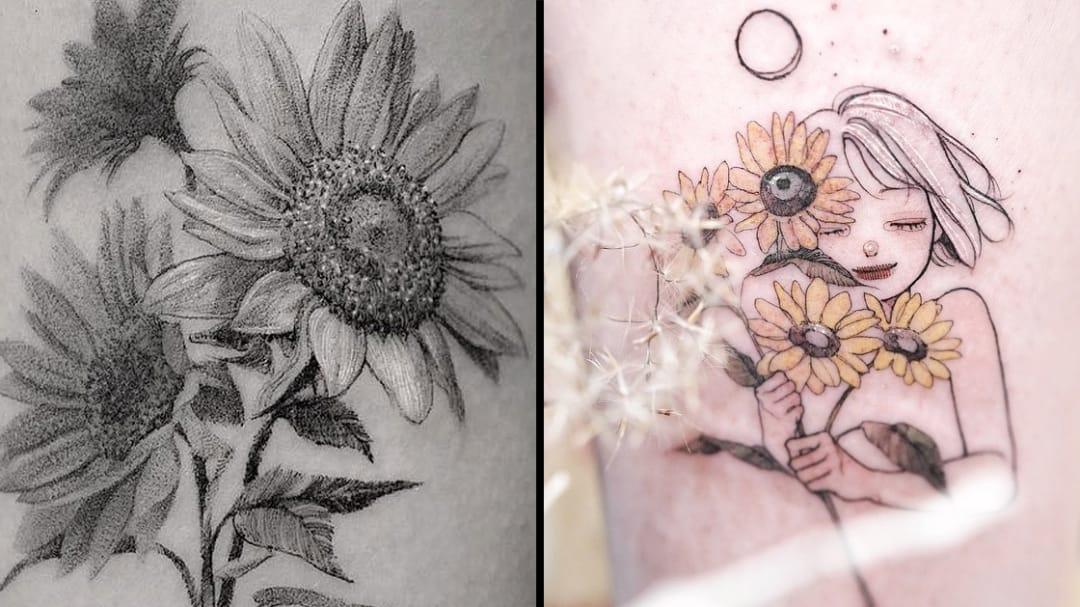 Never Wilt, Never Wither: Flourishing Flower Tattoos