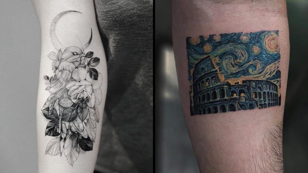 Mistress of the Night: Magnificent Moon Tattoos