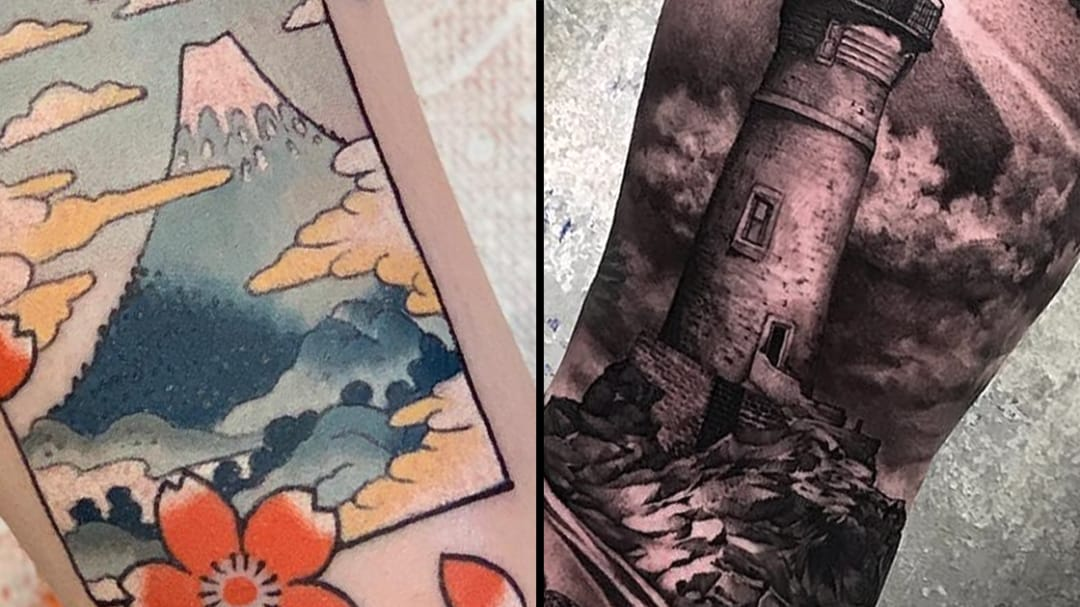 Visions of Our World: Landscape Tattoos