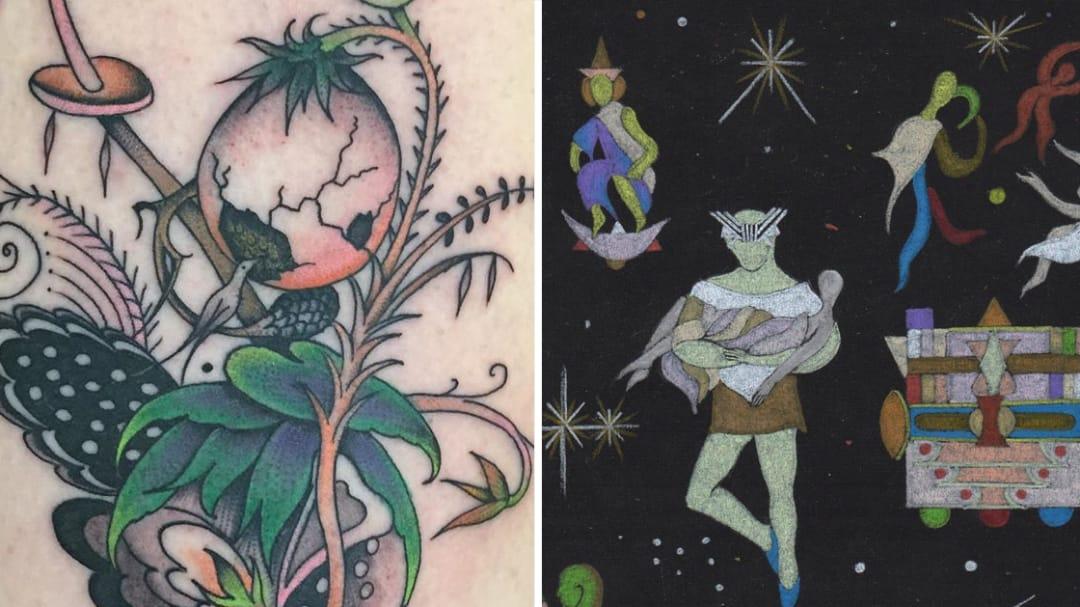 How Ancient Powers Speak: Tattooist Matt Bivetto Releases Art Book