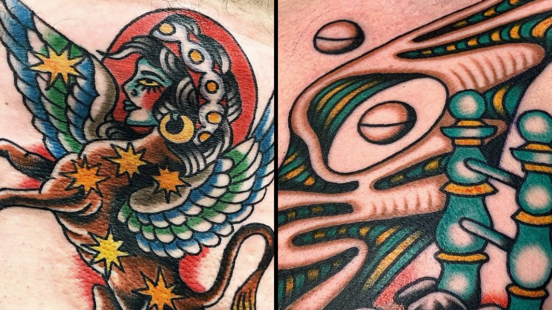 Revisioning Old School: Surreal Traditional Tattoos