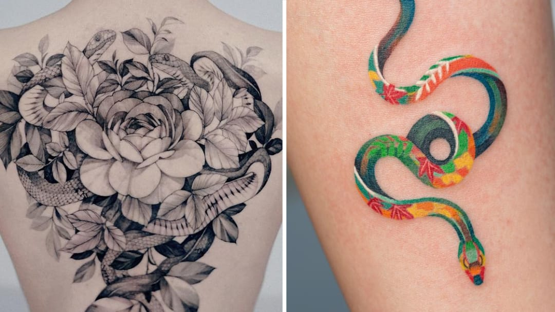 Are You Slytherin'? Sweet Snake Tattoos