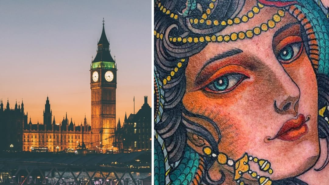 Better Than Big Ben: London Tattoo Artist and Shop Spotlight!