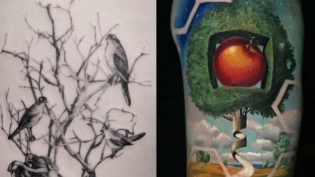 Finding Freedom in Forests: Tree Tattoos