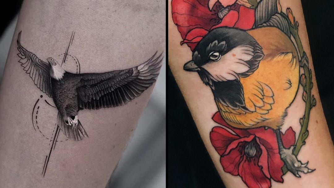 On the Wings of Earth Angels: Beautiful Bird Tattoos