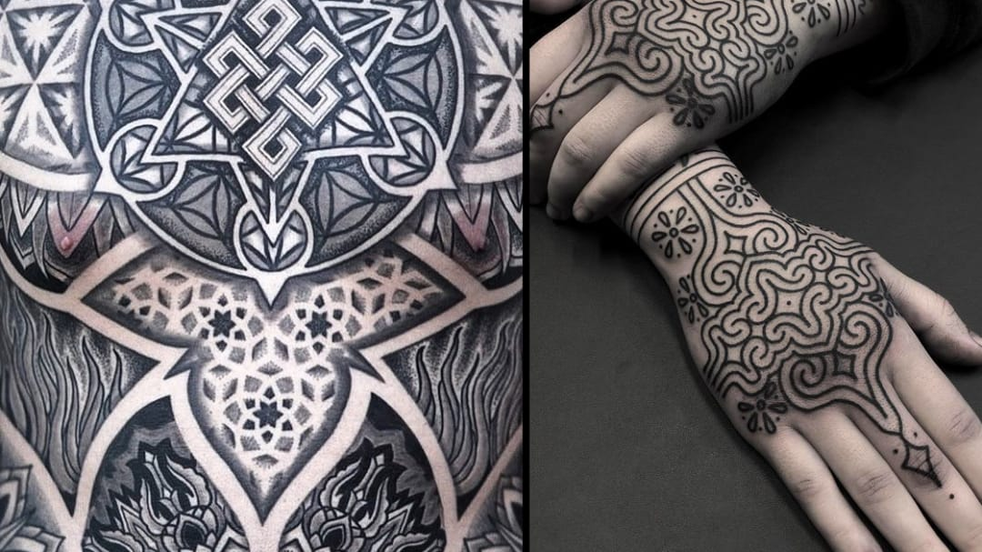 Golden Spirals and Sacred Knots: Geometric Tattoos