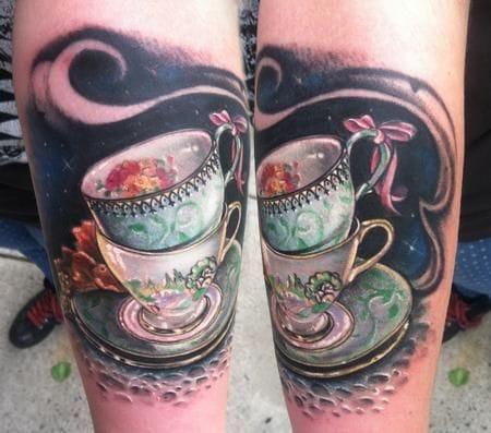 20 Charming Alice in Wonderland Tattoos