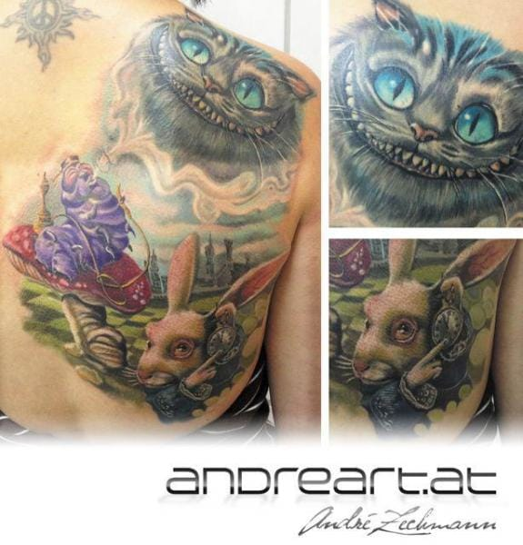 Great work by Andreart Tattoo
