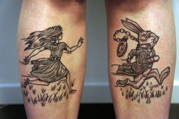 Awesome tattoos by Rocky Zéro