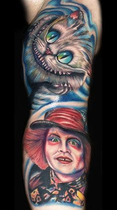Johnny Depp as the Mad Hatter by Roman Abrego