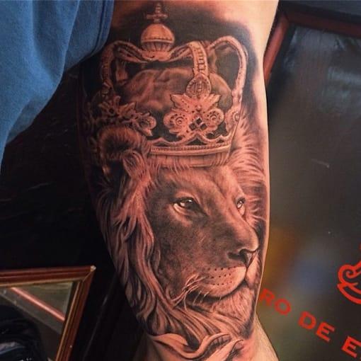 18 Lindas Tatuagens De Leões